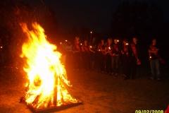 Kerbstoffel-Verbrennung am 02.09.2008