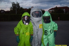 1. CSA-Lehrgang der Feuerwehren der Stadt Babenhausen vom 27. bis 29.08.2009