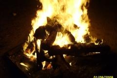 Kerbstoffelverbrennung am 01.09.2009
