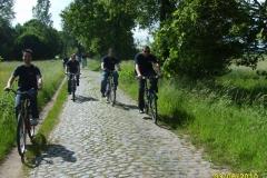 """Dienstsport """"Fahrradtour"""" und Besuch des Feuerwehrfests in Dudenhofen mit Besichtigung der Opel-Teststrecke am 03.06.2010"""