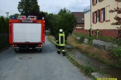 """Einsatz """"Gewässerverunreinigung"""" am 27.05.2009"""