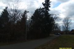"""Einsatz """"Bäume drohen auf Straße zu stürzen"""" am 28.02.2010"""