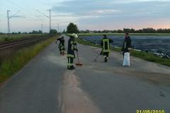 """Einsatz """"Dieselspur"""" am 21.05.2010"""