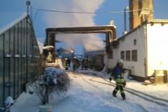 """Einsatz """"Brand eines Blockheizkraftwerks"""" am 26.12.2010"""