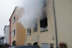 """Einsatz """"Wohnungsbrand mit Menschen in Gefahr"""" am 31.01.2011"""
