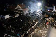"""Einsatz """"Brand einer Lagerhalle"""" am 14.09.2012"""