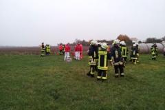 """Einsatz """"Gemeldeter Flugzeugabsturz"""" am 24.10.2012"""