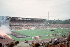 Football-Spiel Frankfurt Galaxy vs. Düsseldorf Rheinfire am 08.06.2002