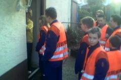 Sammeln im Rahmen der Jugendsammelwoche am 17.03.2005