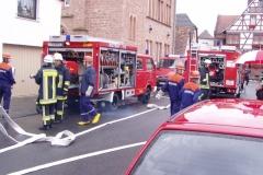 Jubiläumsübung am 14.08.2005 in Harpertshausen