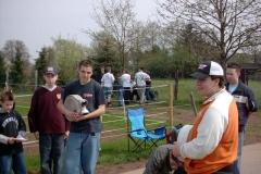 Sportliche Begegnung des Bezirk I am 16.04.2005 in Harpertshausen