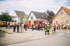 Sommernachtfest-Übung der Jugendfeuerwehren Sickenhofen und Hergershausen am 21.07.2006