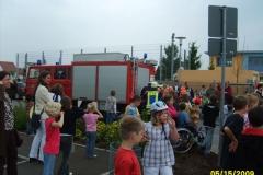 Brandschutzerziehung in der Bachwiesenschule Hergershausen vom 11. bis 15.05.2009