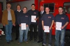 Jahreshauptversammlung der Freiwilligen Feuerwehr Sickenhofen am 09.03.2007
