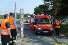 Katastrophenschutzübung am 07.06.2008 in der Kaserne in Babenhausen